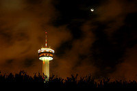 Hemisfair Tower Quarter Moon
